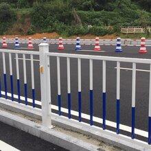肇庆道路交通栏杆市政道路围栏京式隔离栏马路隔离栏现货厂家直销图片