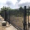 广州锌钢围墙护栏学校外墙护栏别墅防盗栅栏小区防爬栏杆厂家批发安装