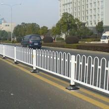 清遠道路交通欄桿內部道路護欄PVC公路護欄人行道護欄生產安裝圖片