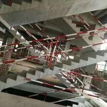 佛山臨時樓梯欄桿工地樓梯欄桿工地標準化欄桿鋼管樓梯欄桿廠家圖片