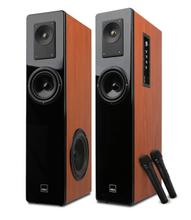家庭影院音响套装组合2.0有源蓝牙K歌客厅电视木质音响