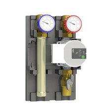 意大利进口DN20高温直通式供热循环泵站图片