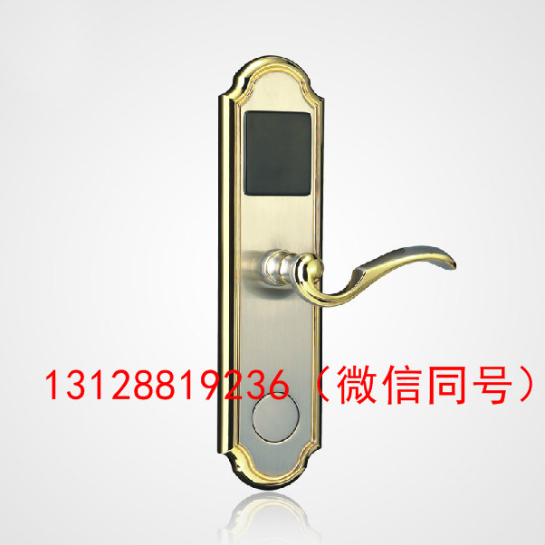 深圳日翔厂家直销酒店刷卡锁可贴牌OEM感应刷卡锁宾馆磁卡锁