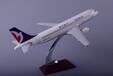飞机模型汕头永航96年生产厂家OEM定制空客A320澳门航空树脂飞机模型
