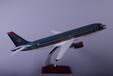 飞机模型汕头永航生产厂家定制空客A320皇家约旦树脂飞机模型47cm