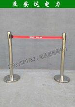 可移動玻璃鋼管式伸縮圍欄安全施工安全隔離護欄廠家特賣圖片