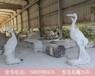 仙鹤石雕双鹤石雕鸟类动物石雕公园动物石雕小品