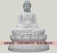阿弥陀佛石雕像|坐像石雕阿弥陀佛像三世佛石雕像