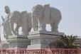 寺庙石雕大象的寓意招财象石雕吉祥象石雕三牙象石雕