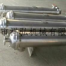 不锈钢双管板换热器卫生级316L直管换热器医药用