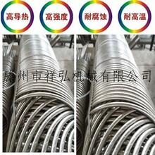 祥弘供应螺旋螺纹管冷凝器真空冷凝系统换热器列管换热器