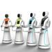 餐饮服务机器人送餐服务生艾米六代无轨送餐机器人