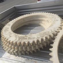 批發塑料尼龍齒輪尼龍鏈輪白色塑料齒輪超然定做加工圖片