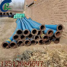 水泵排水大口徑夾布膠管耐磨增強鋼絲橡膠管工廠圖片