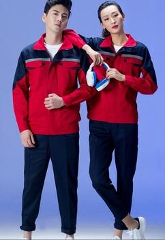 海珠区订制工地工作服套装-海珠区定制帆布夹克衫工作服套装-包工包料