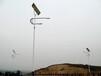 新疆克拉玛依市6米高低臂太阳能路灯工程案例厂家三年质保