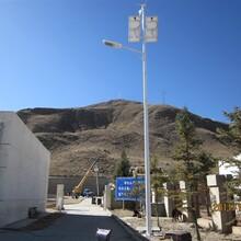 山西长治市武乡县6米单臂LED太阳能路灯工程案例质保三年图片