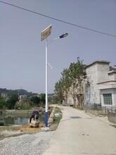 宁夏回族自治区灵武市9米24伏太阳能路灯工程案例厂家直销图片