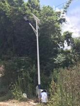安徽LED6米30瓦太阳能路灯价钱图片