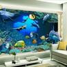 精雕瓷砖背景墙深雕艺术玻璃印花加工万能uv平板打印机设备