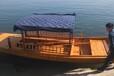 大唐木業PD-014A5A水上風景區生態園區5米6米7米水上單篷船農用船