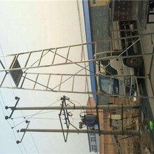 接触网检修金属钢管电气化铁路施工钢制梯车