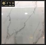 佛山瓷砖客厅白色地砖800800防滑耐磨全抛釉地板砖全瓷爵士白