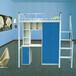 深圳厂家直销加厚牢固耐用床铁木制员工学生公寓单人床钢架床批发