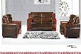 公司接待室简易商务办公室接待会客厅家具沙发茶几组合商务沙发