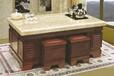 大理石功夫茶几实木家具自动上水办公室泡茶桌老板经理茶台批发