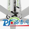 瑞泰風工業大風扇對于廠房通風降溫的核心競爭力!