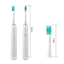 厂家直销最新声波电动牙刷自动防水可贴牌可定制图片