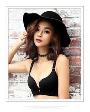 彼妮美内衣无痕超透气吸汗定型收副乳聚拢一片式文胸套装