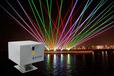 户外激光表演机水幕激光投影机