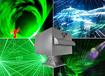 水幕激光表演机音乐喷泉激光秀设备