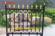 生产铁艺围墙铸铁护栏小区别墅铁艺护栏铸铁围栏河南新力