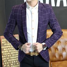 供应时尚男士修身西装,专属定制/批发,可加印LOGO
