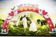 充氣婚慶拱門婚禮拱門供應戶外婚禮拱門制作