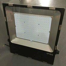 新款特推LED超薄户外防水投光灯超频三外壳贴片投光灯100W图片