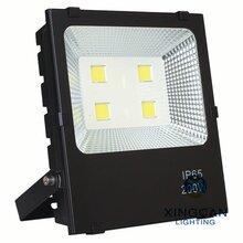 50W黑金钢投光灯大功率LED户外球场泛光灯广告招牌投射灯图片