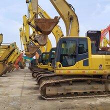 杭州二手挖掘機市場轉讓小松200日立240神鋼260二手挖掘機圖片