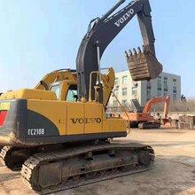 武漢二手挖掘機出售沃爾沃210斗山220三一215二手挖掘機等