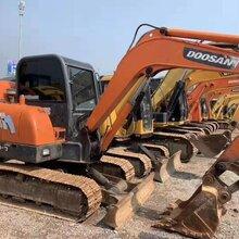 合肥二手挖掘機市場轉讓斗山6080三一6075等小型二手挖掘機