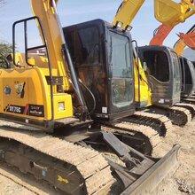 南寧二手挖掘機市場轉讓三一135小松130二手挖掘機促銷