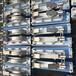 供应压滤机配件压滤机拉板小车1500型高效不锈钢跑道小车