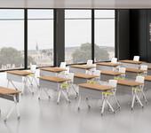 办公室家具板式培训桌-BX7上海横衡办公家具