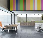 横衡办公室家具板式办公家具桌