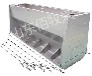 育肥猪自由采食槽厂家猪用自动料槽不锈钢料槽双面自动料槽桶式食槽