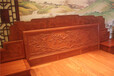 缅花十全十美大床-红木的种类-刺猬紫檀