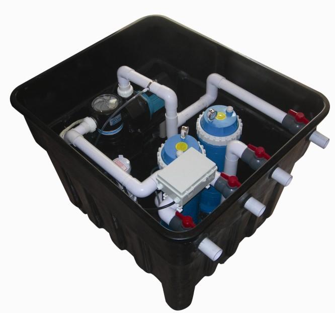泳池水净化设备,壁挂式一体机、地埋式一体机